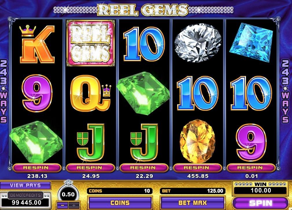 Reel Gems Slot Game Online