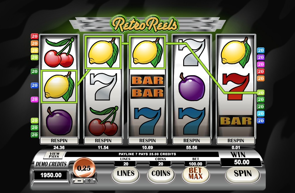 Retro Reels Slot Game Online