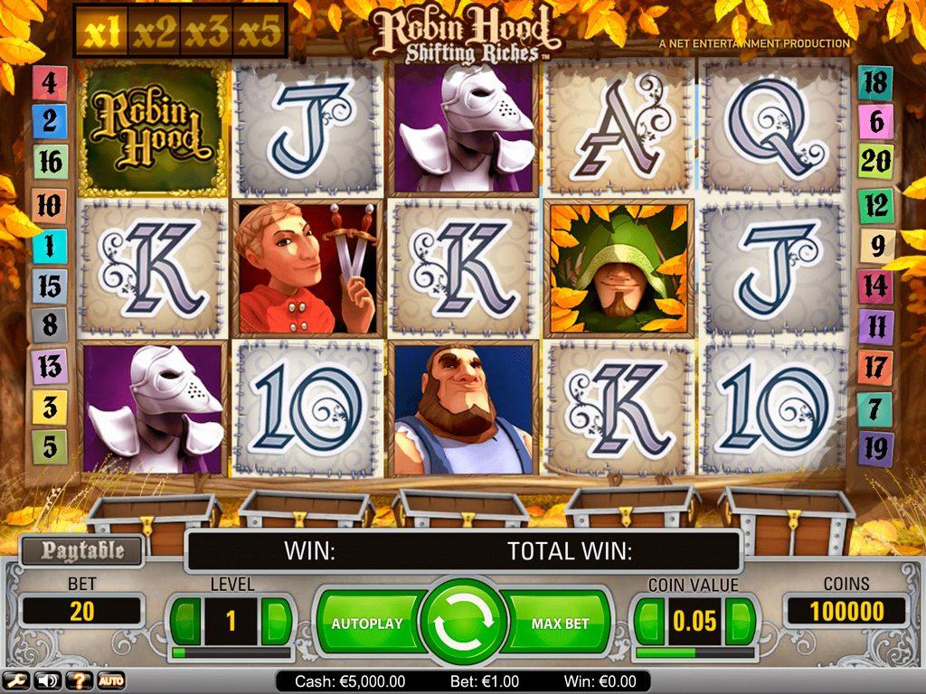 Robin Hood Shifting Riches Slot Review