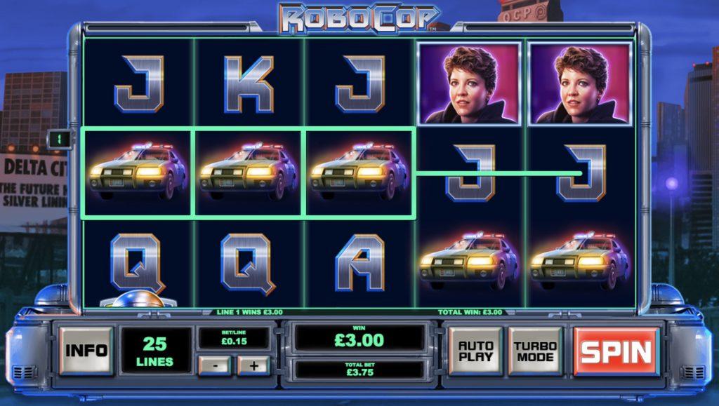 Robocop Slot Machine Review