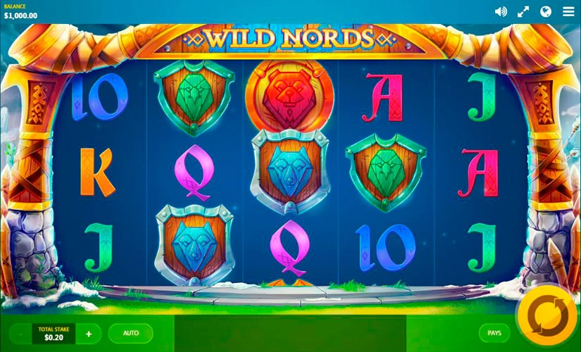 Wild Nords Slot Machine Online