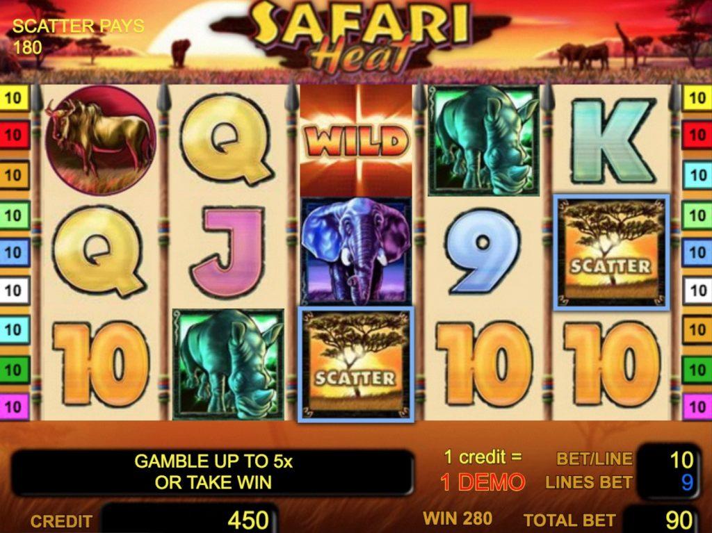 Safari Heat Slot Machine Review