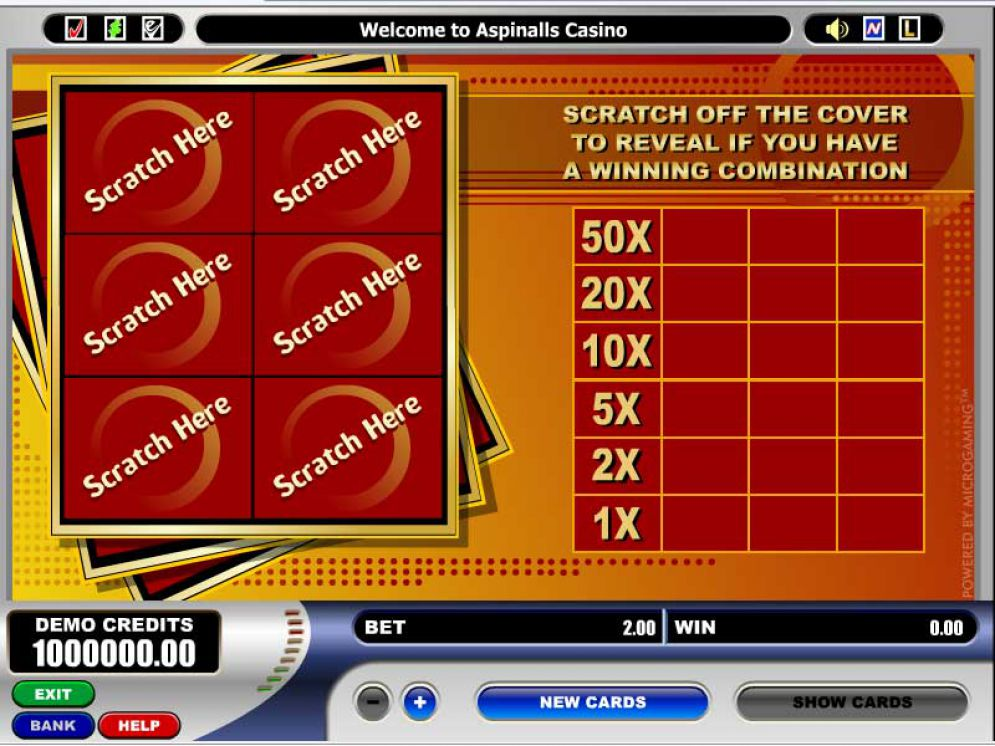 Scratch Game Online