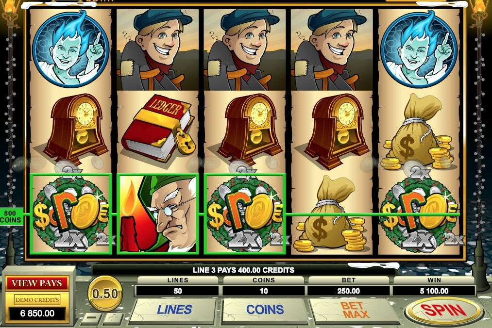 Scrooge Slot Machine Review