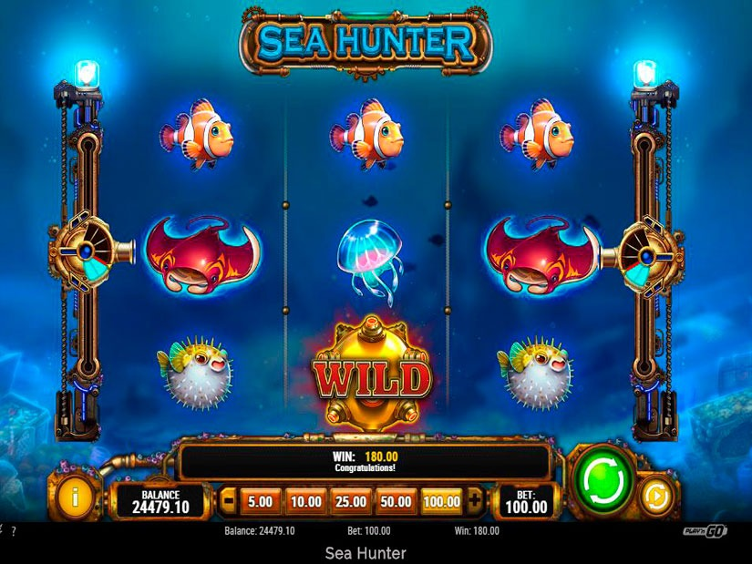 Sea Hunter Slot Machine Review