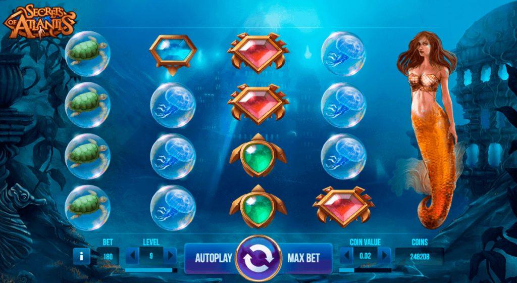 Secrets Of Atlantis Slot Review