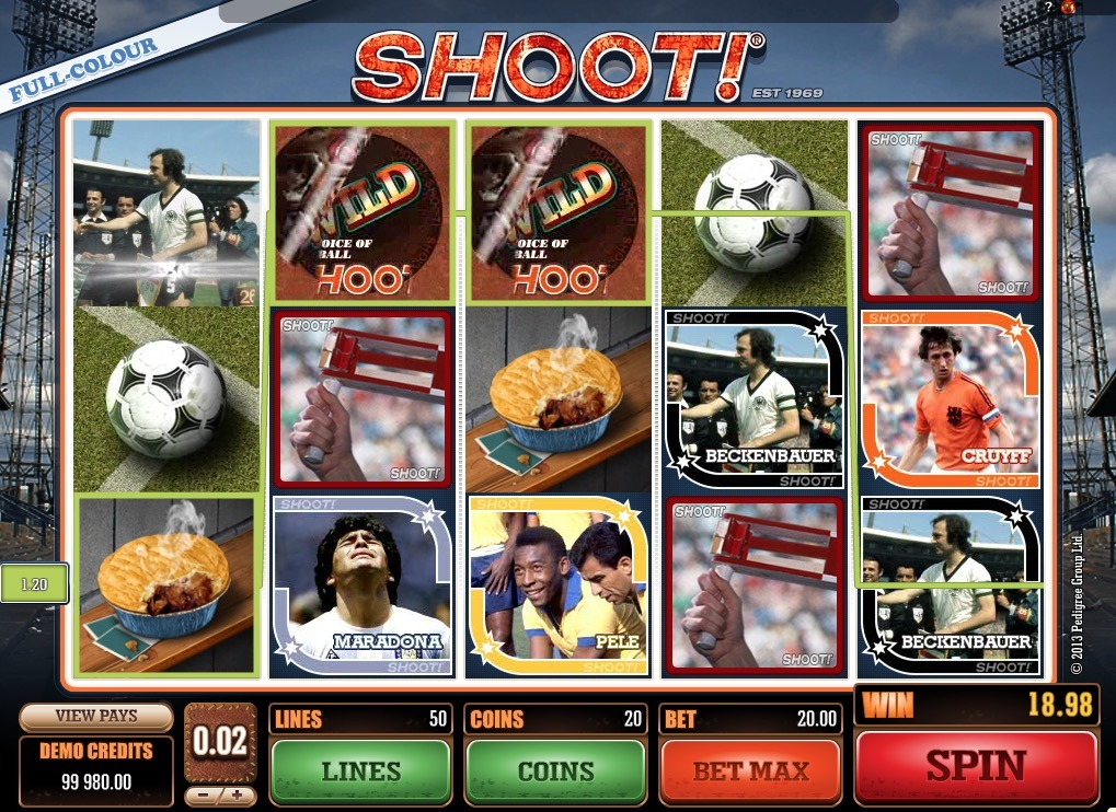 Shoot! Slot Game Online