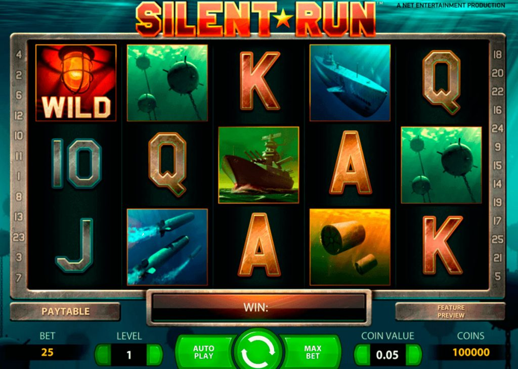 Silent Run Slot Game