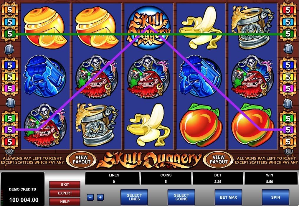 Skull Duggery Slot Game Online