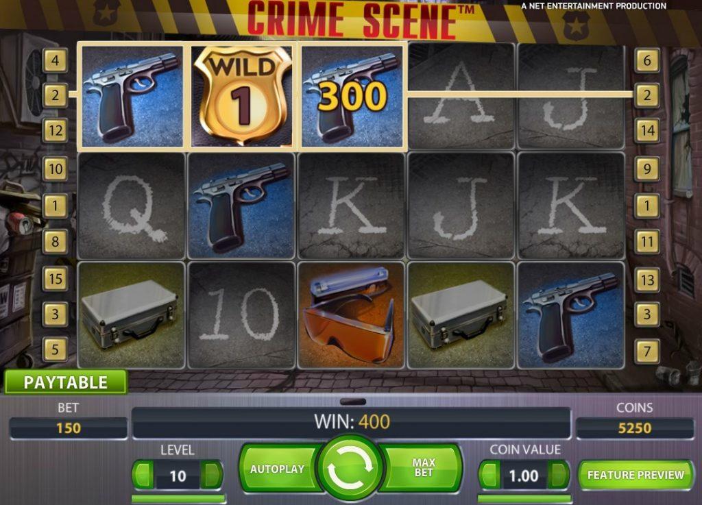 Crime Scene Slot Machine Online