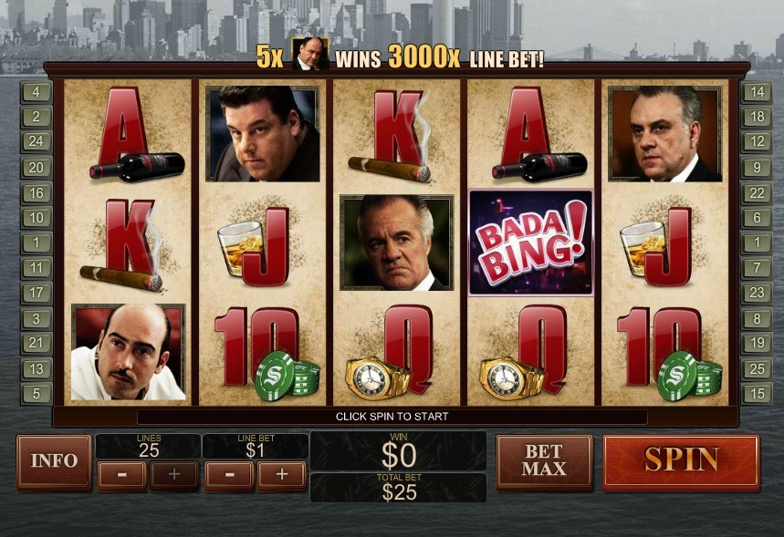 The Sopranos Slot Machine Review