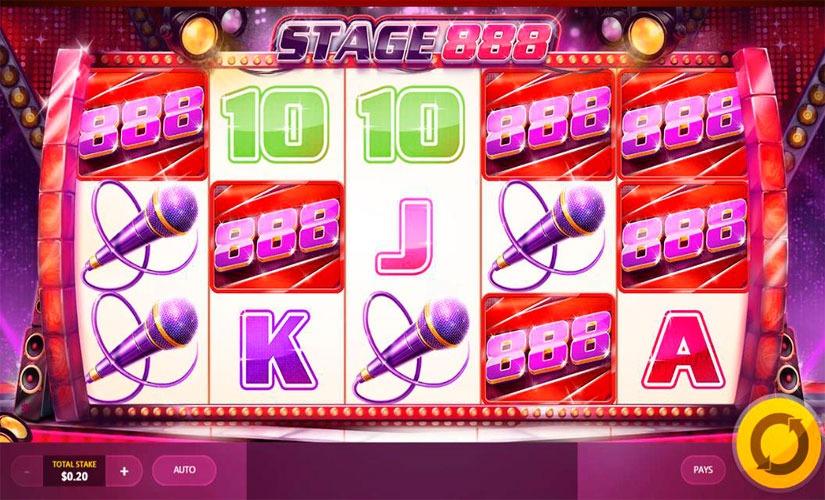 Stage 888 Slot Machine Online