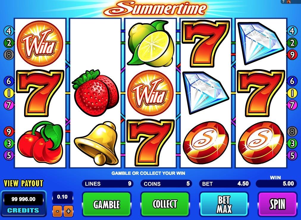Summertime Slot Game Online