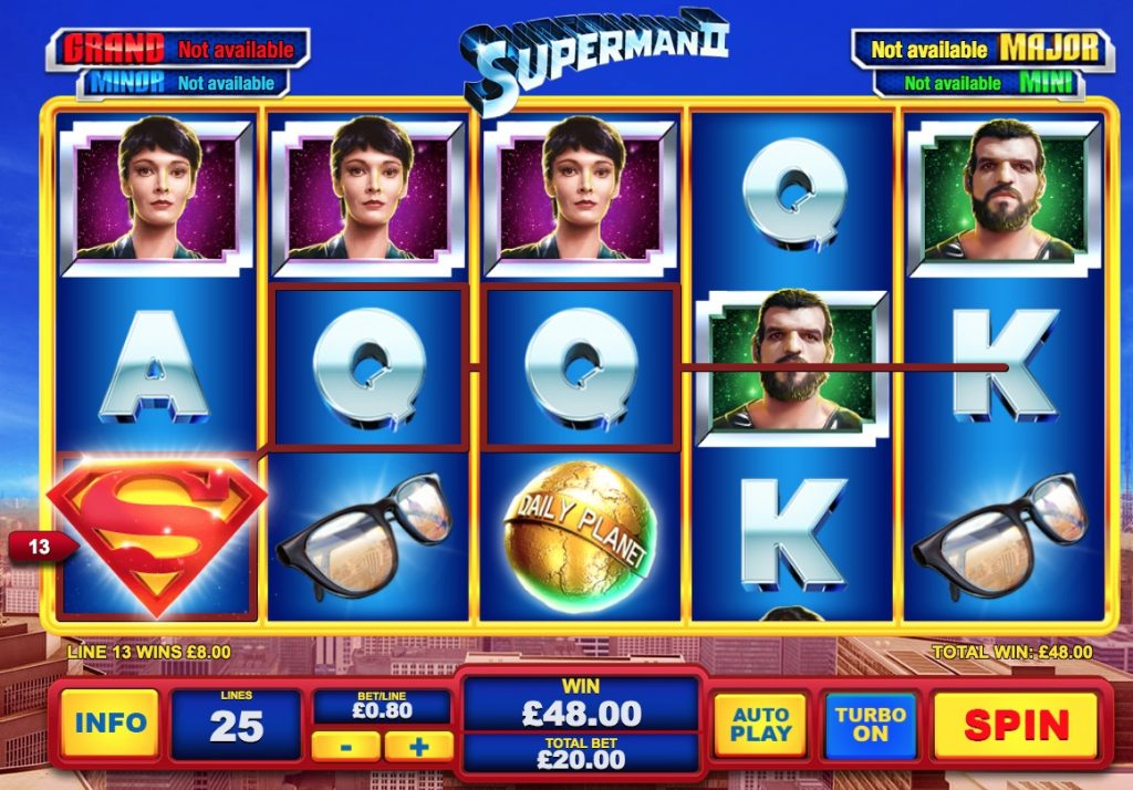 Superman 2 Slot Machine Review