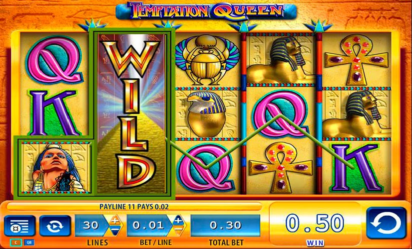 Temptation Queen Slot Machine Review