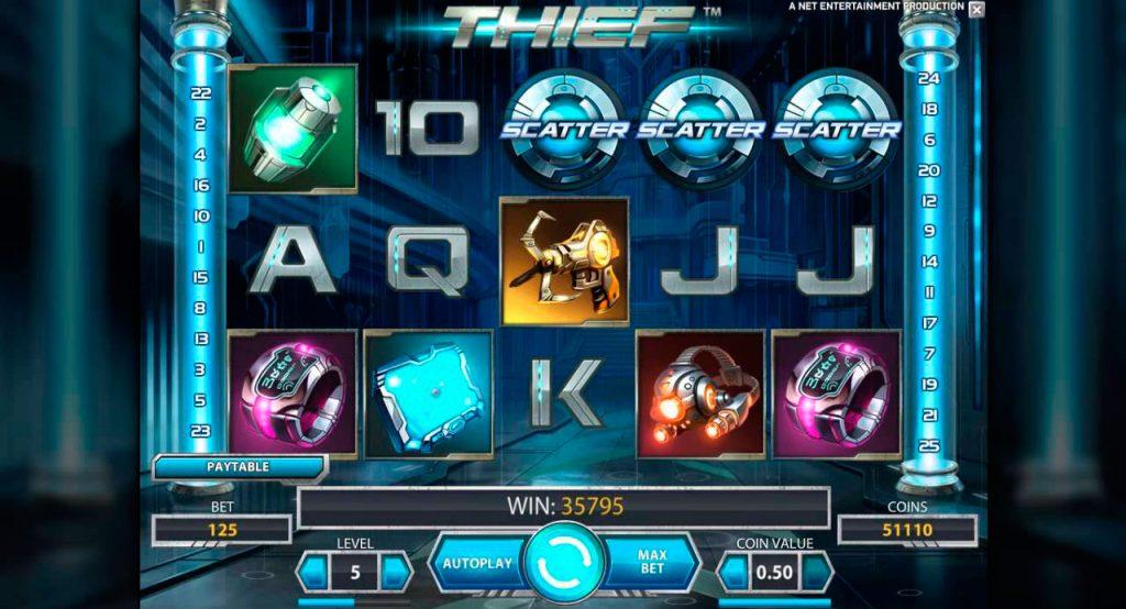 Thief Slot Machine Reviews