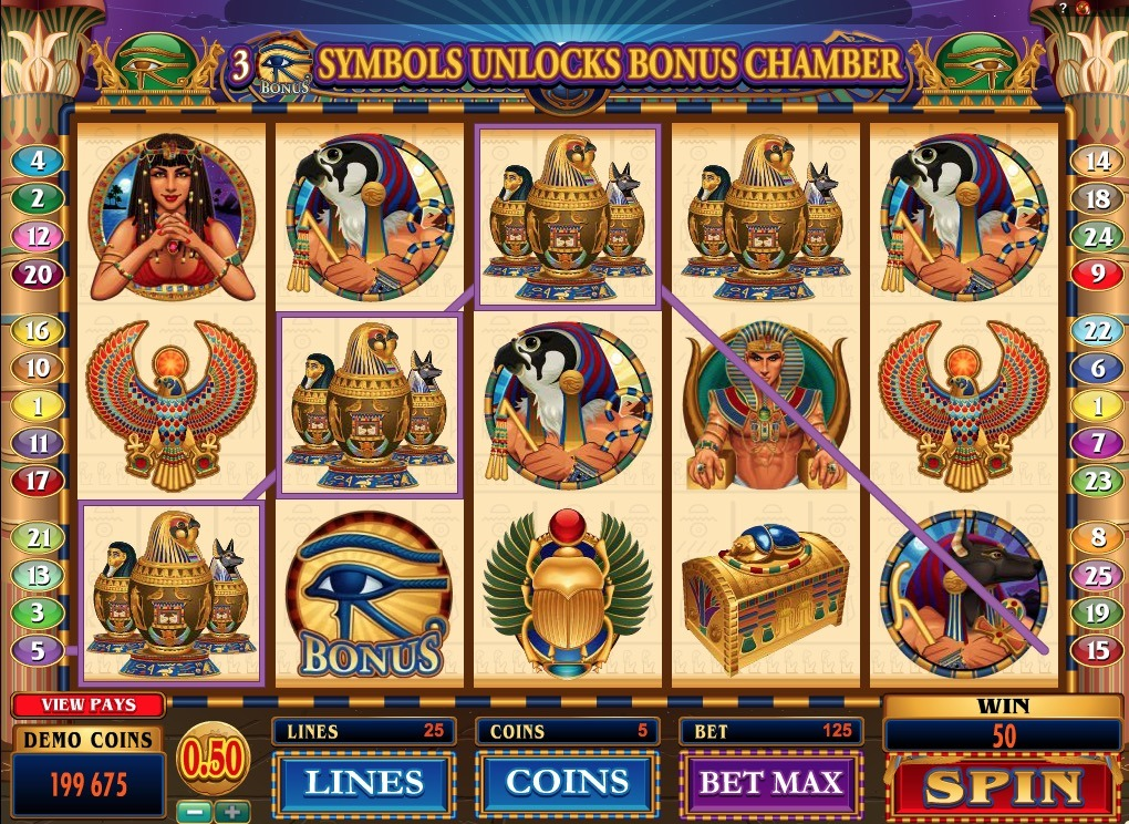 Throne Of Egypt Slot Machine Online