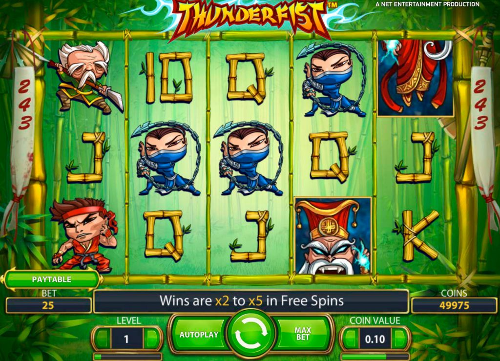 Thunderfist Slot Machine Reviews
