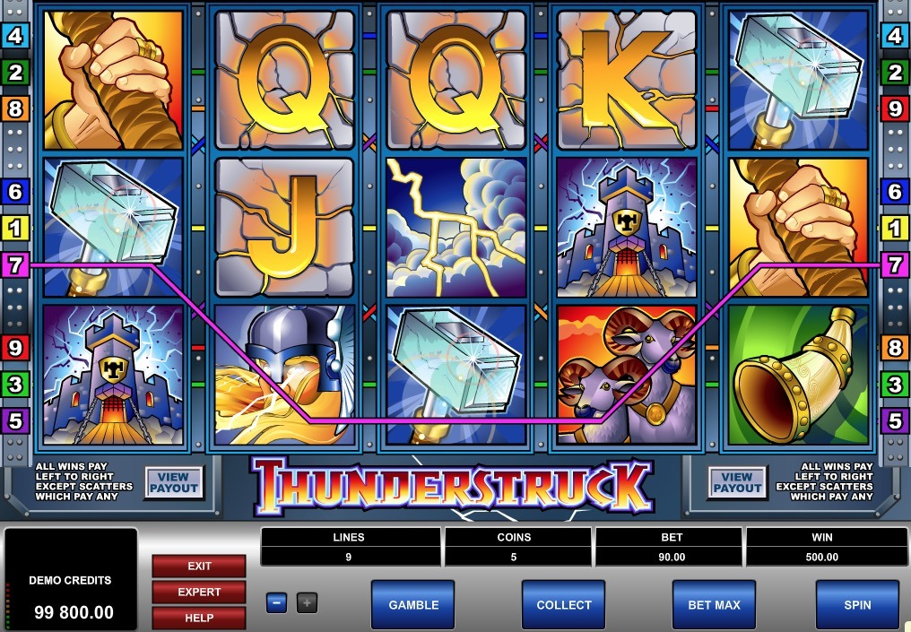 Try our slot machines