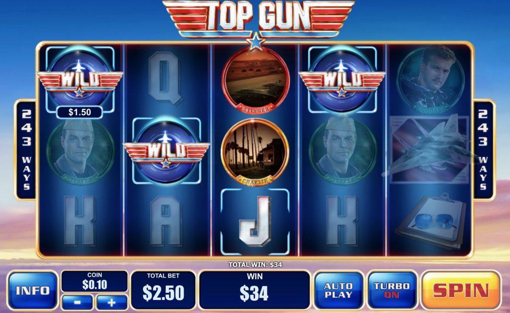 Top Gun Slot Machine Review