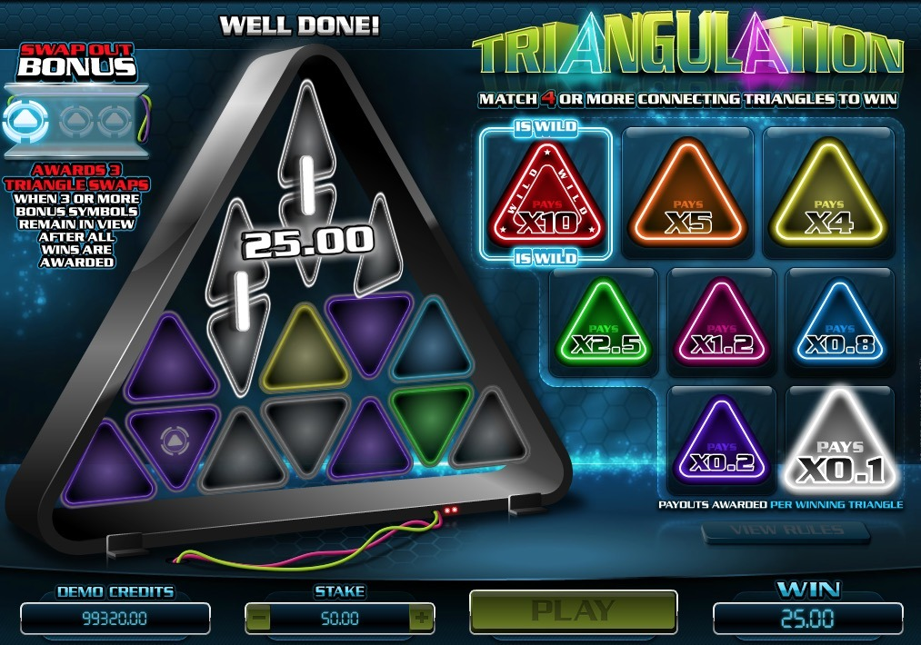 Triangulation Slot Game Online