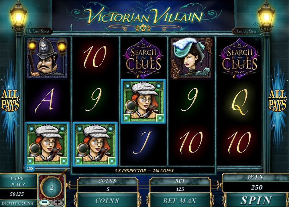 Victorian Villain Slot Machine Online