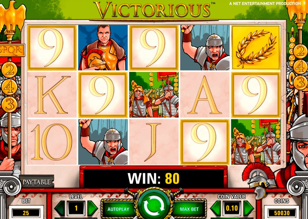 Victorious Slot Machine Review