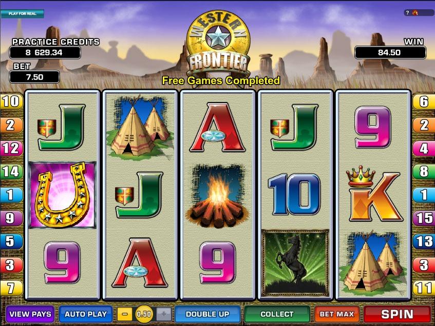 Western Frontier Slot Game Online