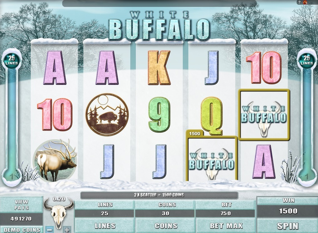 White Buffalo Slot Game Online