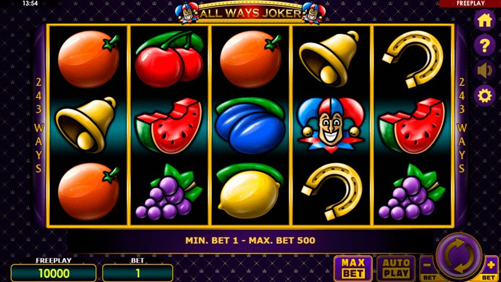 All Ways Joker Slot Machine Review