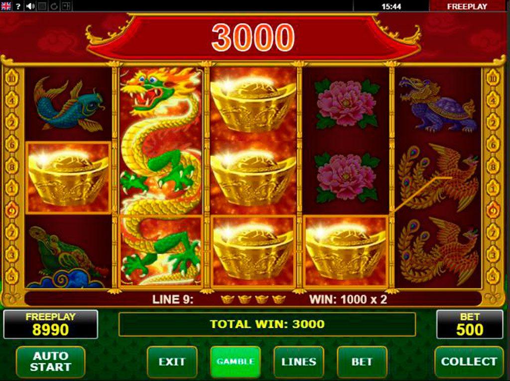 Wild Dragon Slot Machine Review
