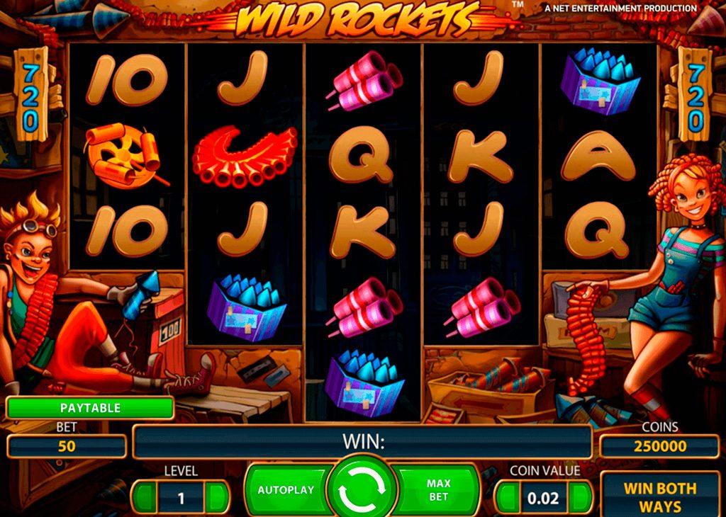 Wild Rockets Slot Machine Review
