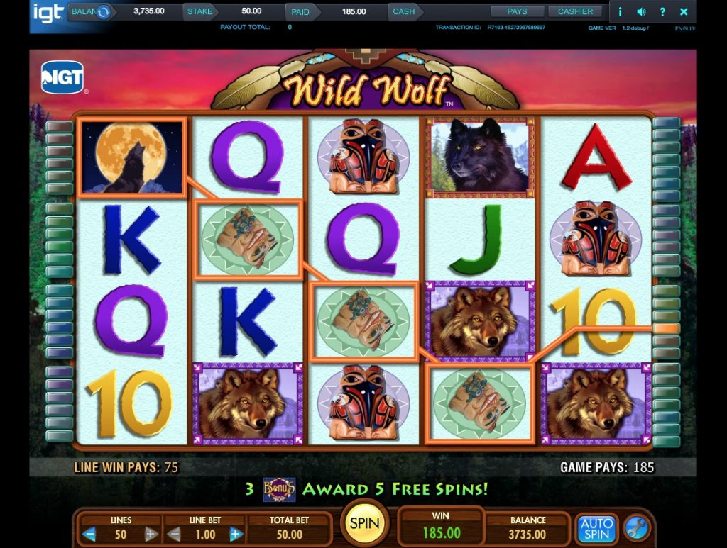 Wild Wolf Slot Machine Review