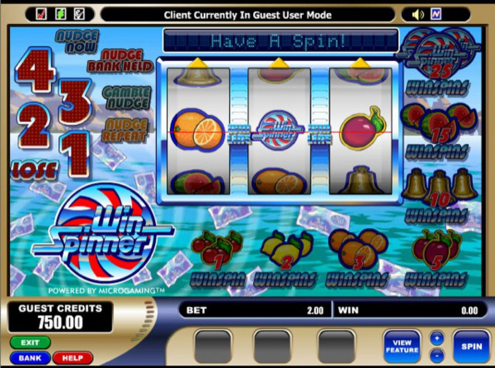 Win Spinner Slot Game Online