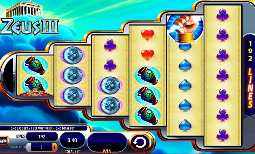 Zeus III Slot Machine Review
