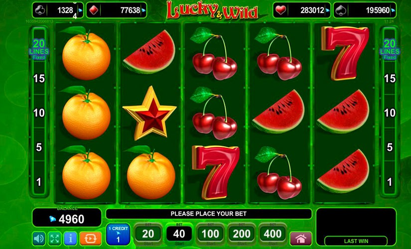 Lucky & Wild Slot Machine Review