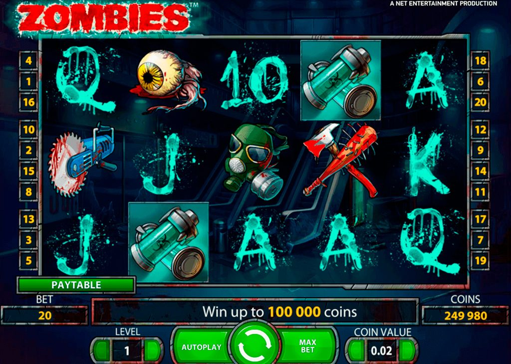 Zombies Slot Machine Review