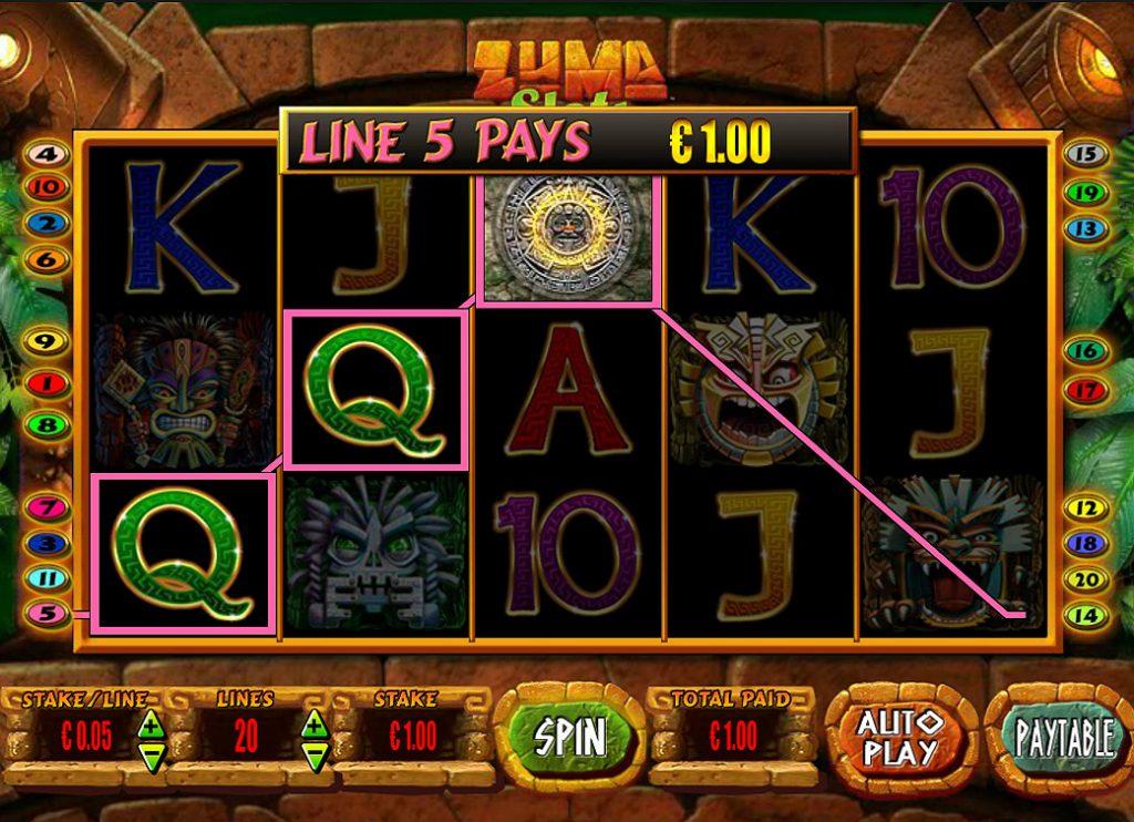 Play Zuma Slot Online